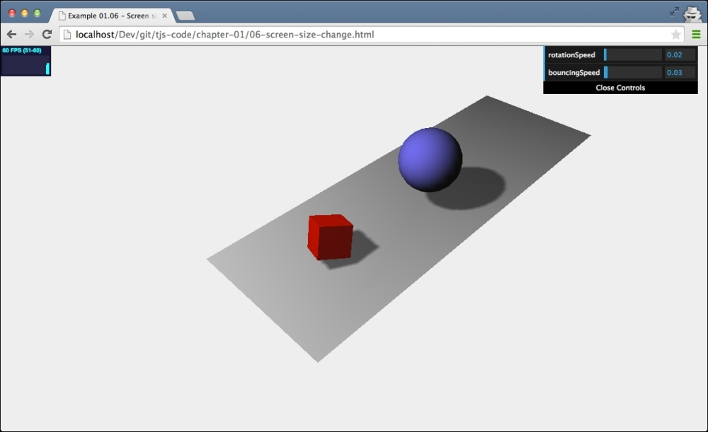 Using dat GUI to make experimenting easier - Learning Three