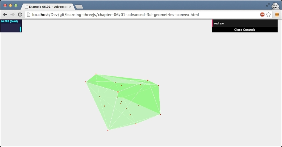 THREE ConvexGeometry - Learning Three js - the JavaScript 3D Library