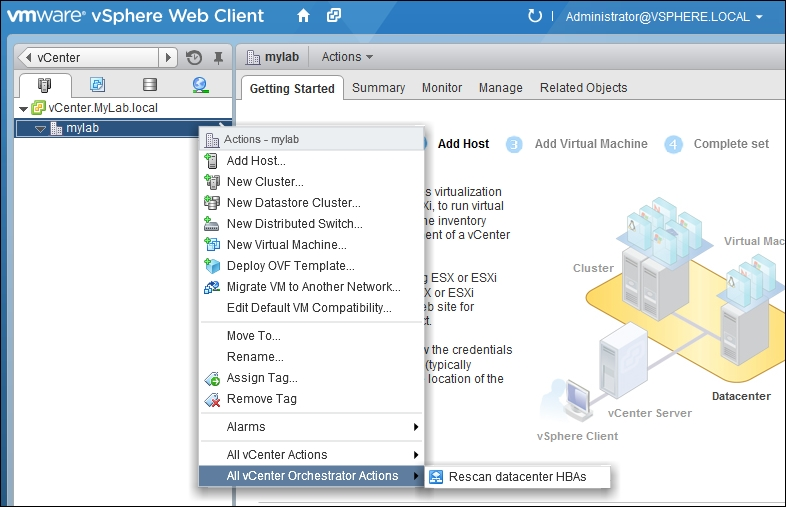 Integrating Orchestrator into SSO and vSphere Web Client