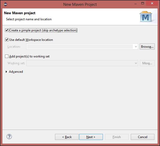 Configuring the Selenium WebDriver test development