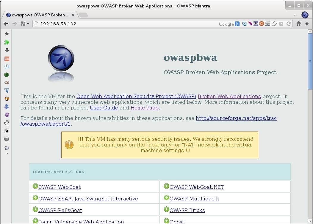 B04027 01 30 - Owasp Broken Web Application Project Tutorial