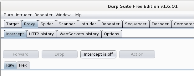 Using Burp Suite to crawl a website - Kali Linux Web