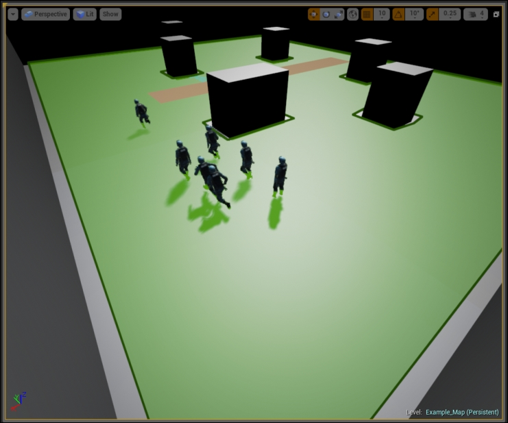 Techniques and practices of game AI - Unreal Engine 4 AI