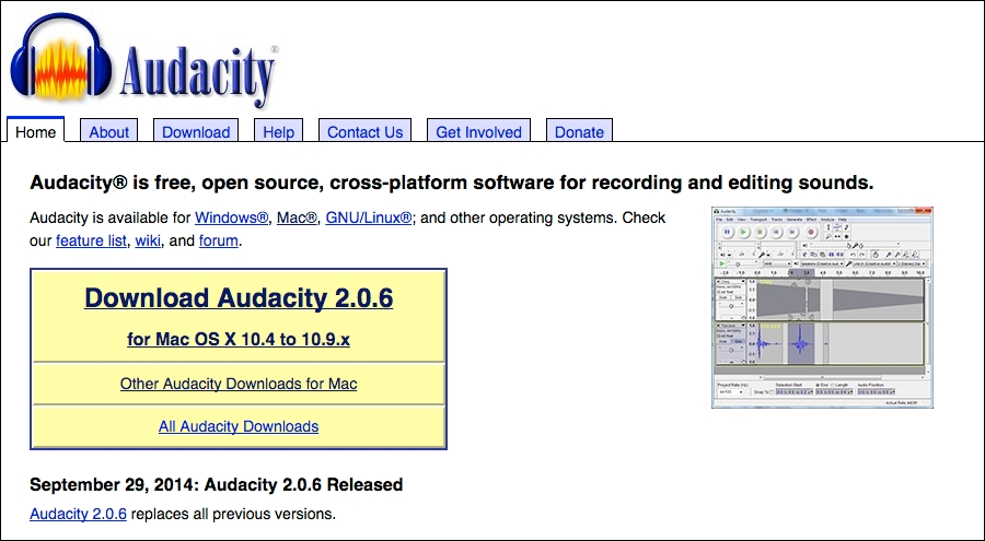 audacity sourceforge net download windows