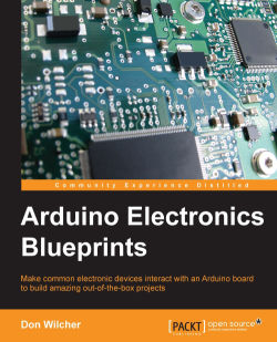 An HMI controller block diagram - Arduino Electronics Blueprints