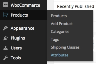 Adding global product attributes - WooCommerce Cookbook