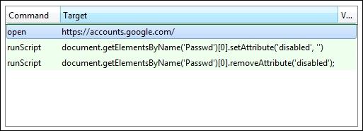 Selenium IDE JavaScript functions - Selenium Essentials