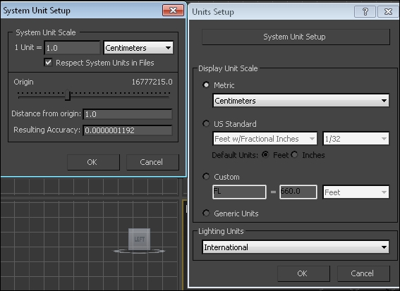 Changing units of measurement in 3ds Max and Maya - Unreal Engine Physics  Essentials