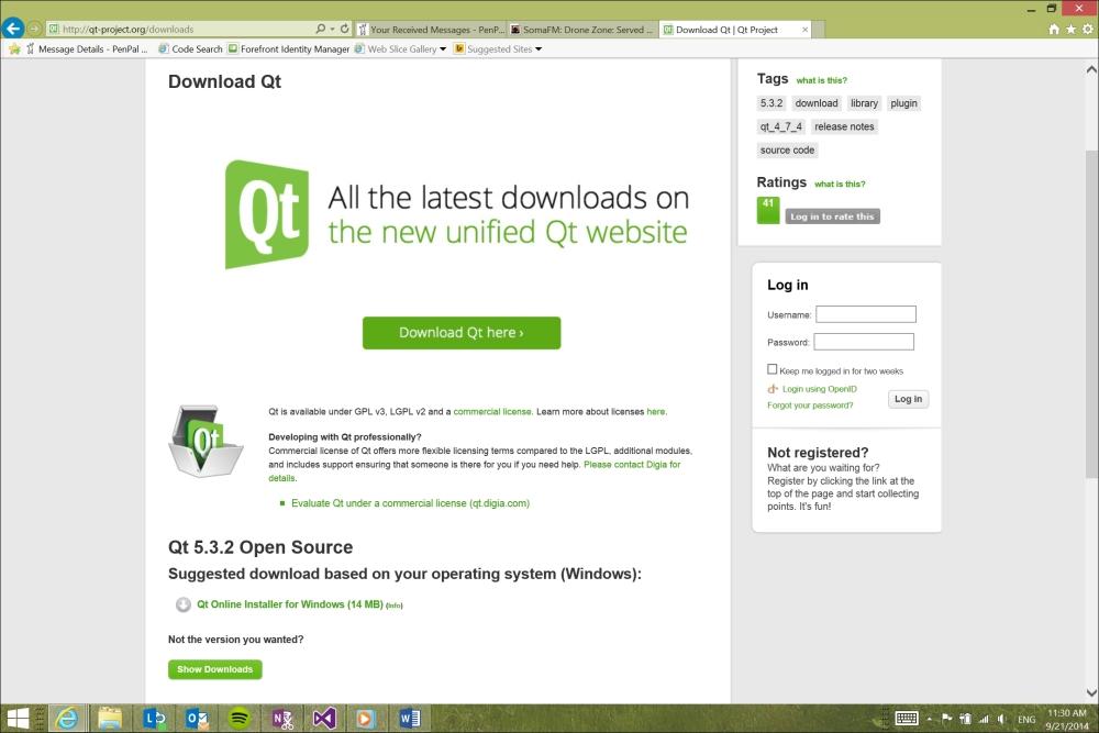 Downloading Qt and Qt Creator - Application Development with Qt