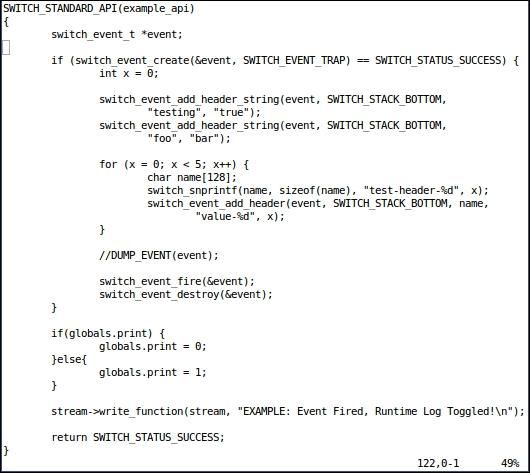API command - Mastering FreeSWITCH