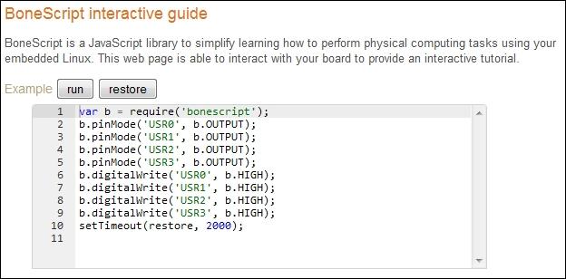Initial setup - Learning BeagleBone Python Programming