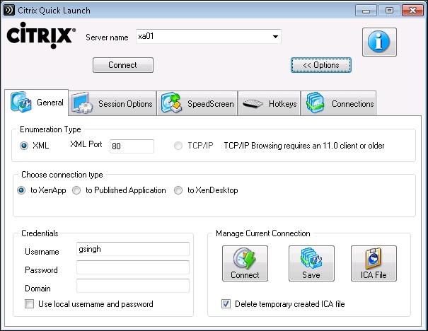 Citrix Quick Launch - Troubleshooting Citrix XenDesktop