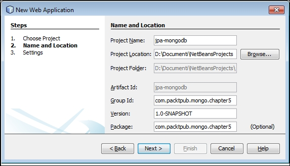 Building a JPA project that uses