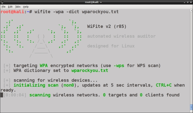 WPA cracking with automated tools - Kali Linux Wireless Penetration