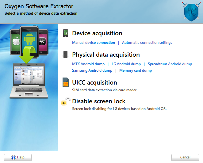 SIM card acquisition and analysis with Oxygen Forensic