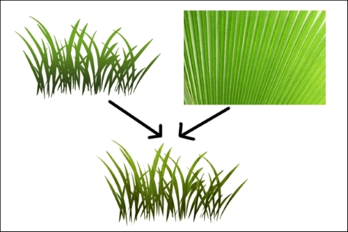 Creating the grass texture - Building a Game with Unity and Blender
