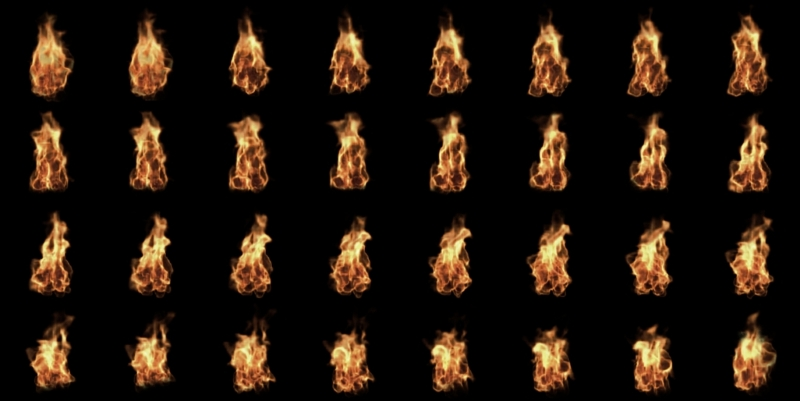 Torch fire - Building a Game with Unity and Blender