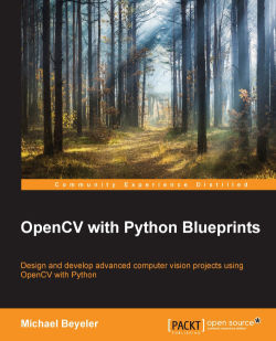Creating a black-and-white pencil sketch - OpenCV with Python Blueprints