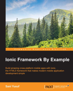 The Ionic Modal - Ionic Framework By Example