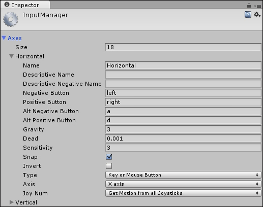 Project settings - Building Levels in Unity