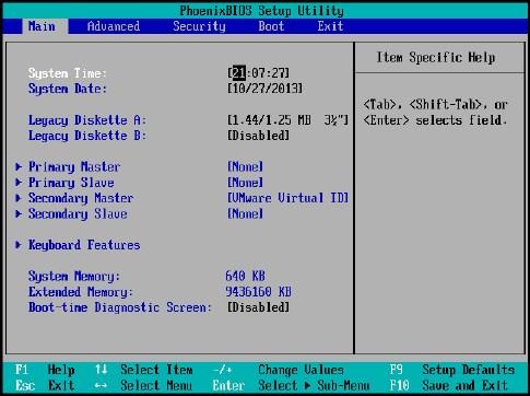 Best practices for ESXi host BIOS settings - VMware vSphere 6 x