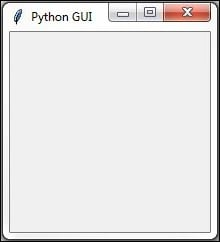 Preventing the GUI from being resized - Python GUI Programming Cookbook