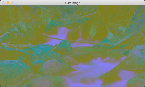 Image color spaces - OpenCV with Python By Example