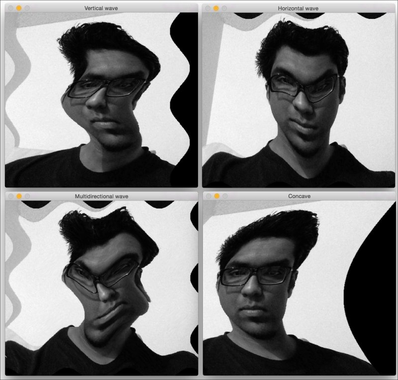 Image warping - OpenCV with Python By Example