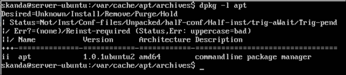 Using dpkg for package management - Troubleshooting Ubuntu