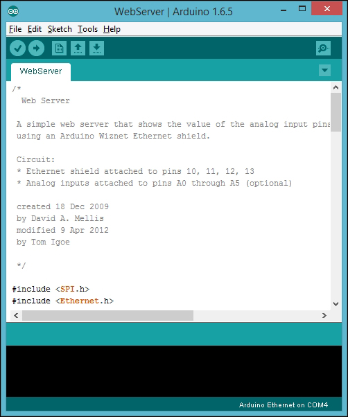 Getting started - Internet of Things with Arduino Blueprints