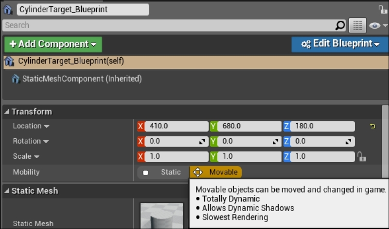 Adding movement - Blueprints Visual Scripting for Unreal Engine
