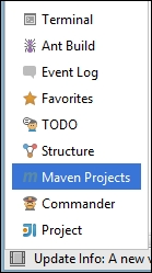 Using IntelliJ IDEA to run Maven goals - Apache Maven Cookbook