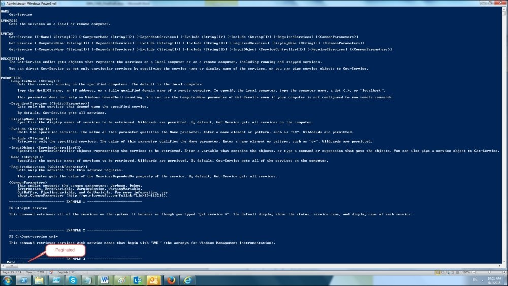 Using an interactive shell - Windows PowerShell for  NET Developers