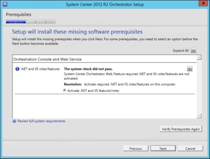 Deploying a single-server solution - Microsoft System Center
