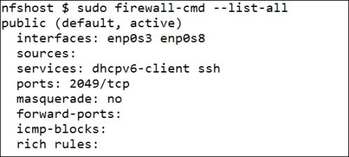 Hosting NFSv4 behind a firewall - Learning RHEL Networking