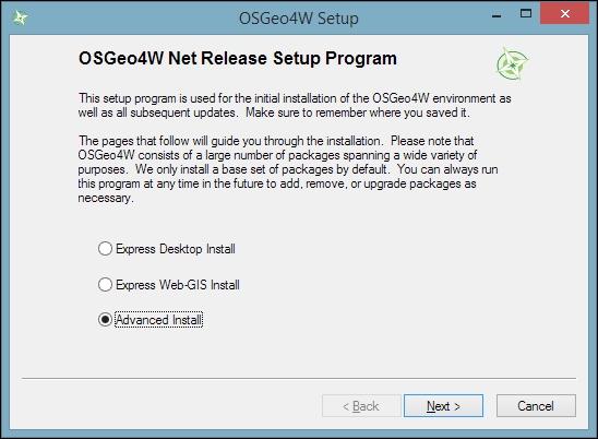 Installing QGIS - Learning QGIS - Third Edition