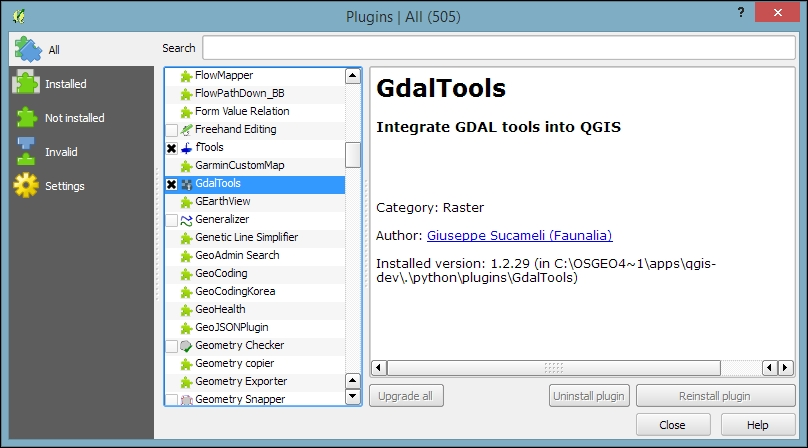 Running QGIS for the first time - Learning QGIS - Third Edition