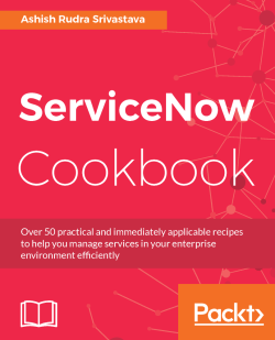 Attaching a workflow with the service catalog - ServiceNow Cookbook