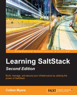 Contributing code using GitHub - Learning SaltStack - Second Edition