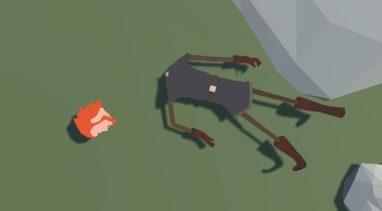 Dismemberment - Unity 5 x Animation Cookbook