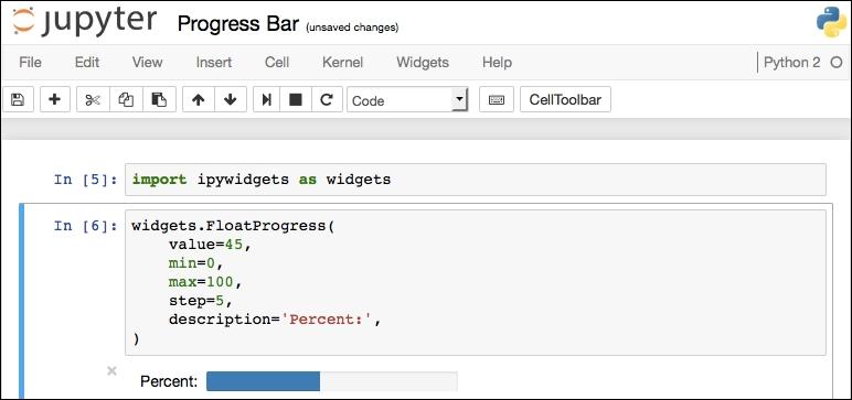 Widgets - Learning Jupyter