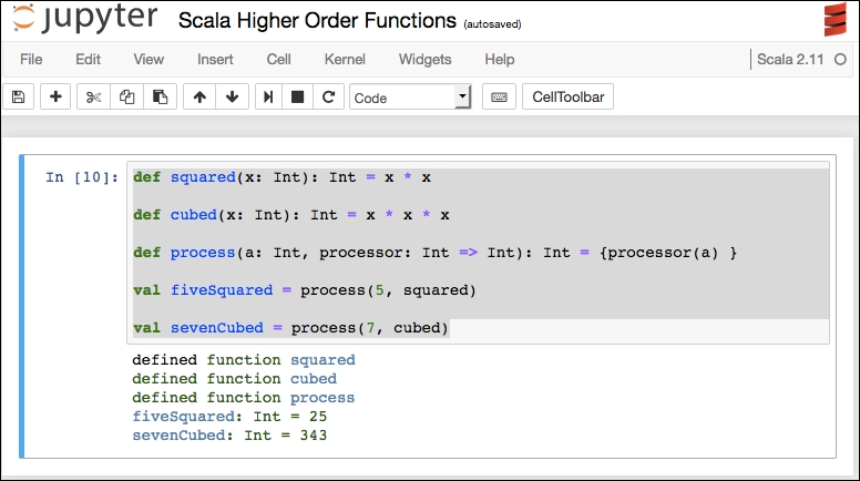 Scala higher-order functions - Learning Jupyter