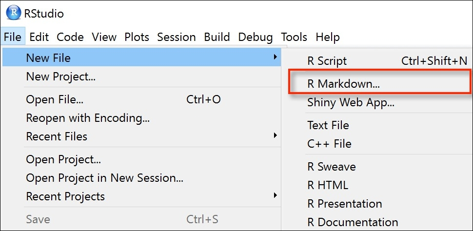 Formatting and publishing code using R Markdown - Practical
