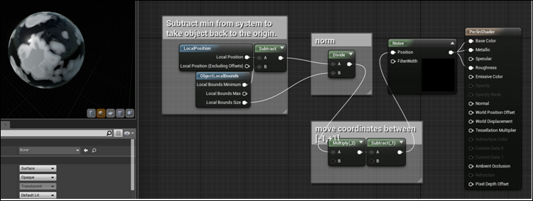 Randomness – Perlin noise - Unreal Engine 4 Scripting with C++ Cookbook