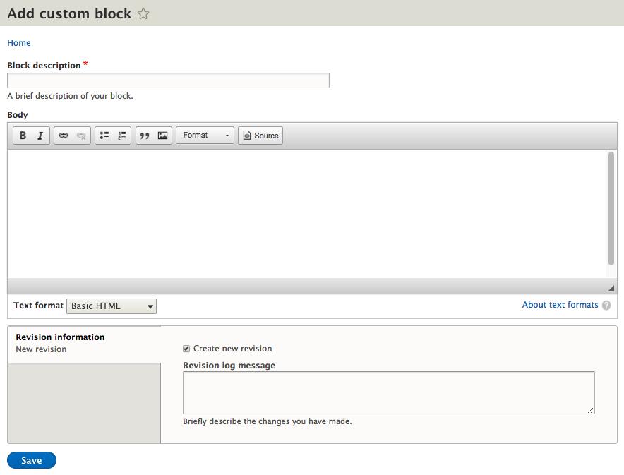 Creating a custom block - Mastering Drupal 8