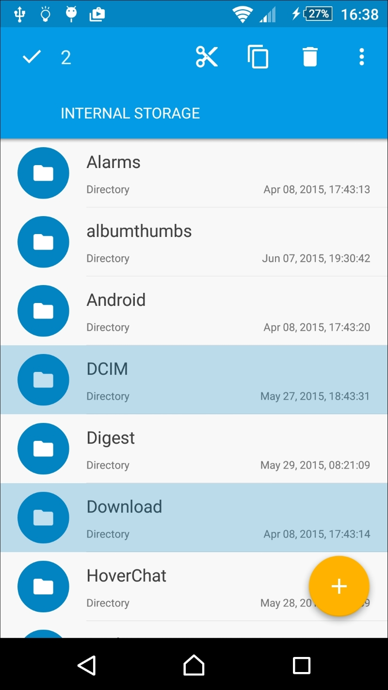 Using Contextual Batch Mode with a ListView - Android