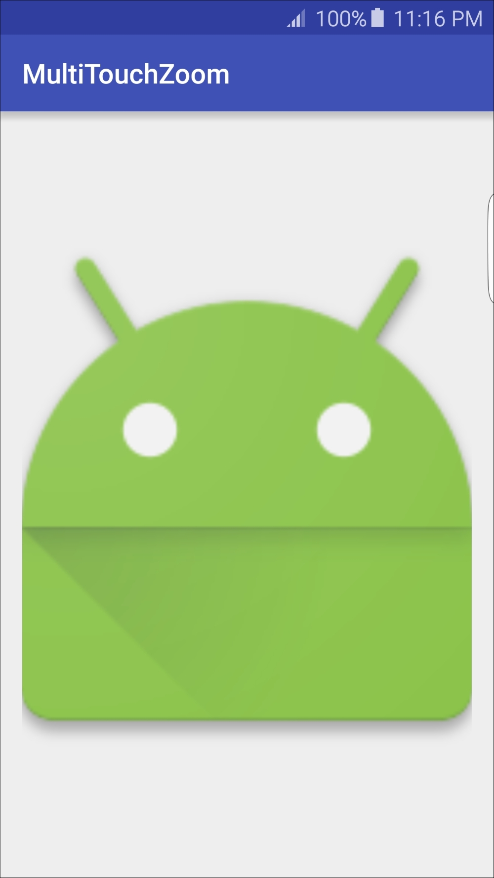 Pinch-to-zoom with multi-touch gestures - Android