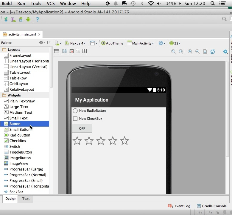 Creating views - Android UI Design
