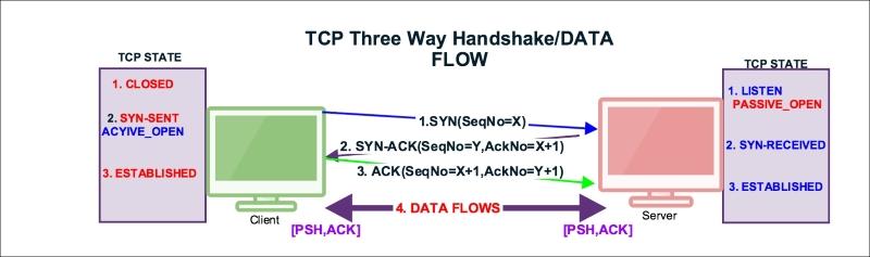 TCP data communication - Packet Analysis with Wireshark