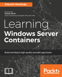 docker commit - Learning Windows Server Containers